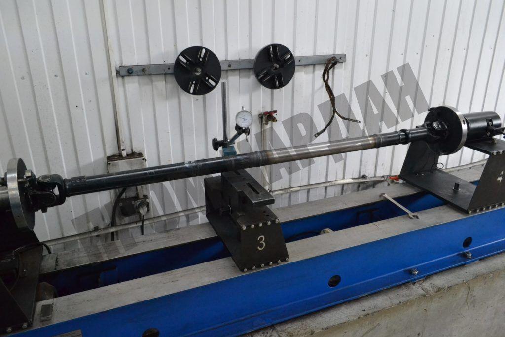 Удлинение карданного вала болотохода УАЗ-469